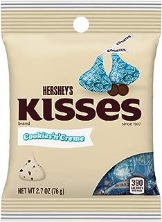 Hershey's Cookies N' Creme Kisses 2.7 Oz. (1 Pack)