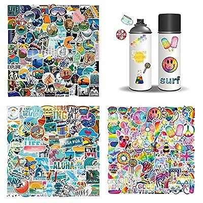 308PCS Stickers Pack Vinyl Stickers Waterproof ...