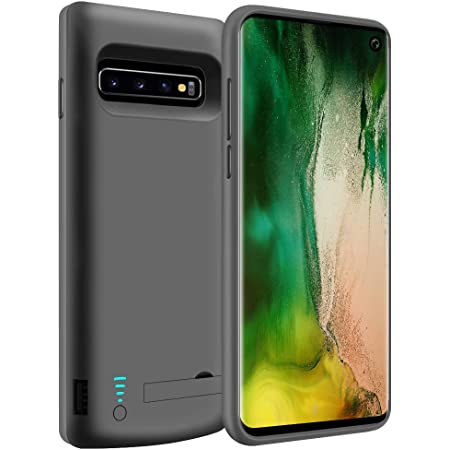 LOYTAL Battery Case for Samsung Galaxy S10, 6000mAh Rechargeable Extended Battery Charging Case, External Battery Charger Case, Adds 150% Extra Juice, NOT for S10 5G (6.1 inch for Galaxy S10)