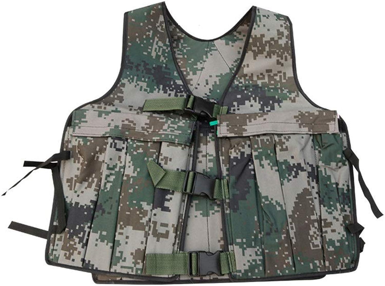 Contactsly Gewichtsweste, Gewichtsweste Mnner Unisex Camouflage Weighted Vest Komfortables Unterhemd für Boxtraining Fitness-Gewichte Nicht enthalten krpergewicht Training