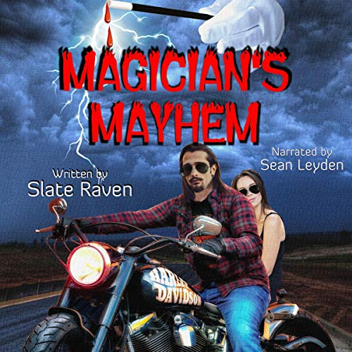 Magician's Mayhem audiobook cover art