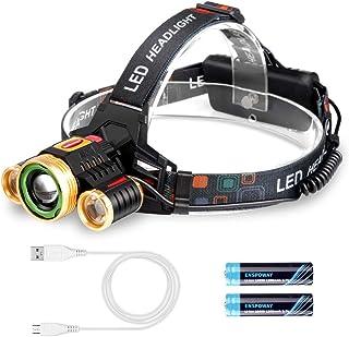 ENSPOWAY LED アウトドア用ヘッドライト