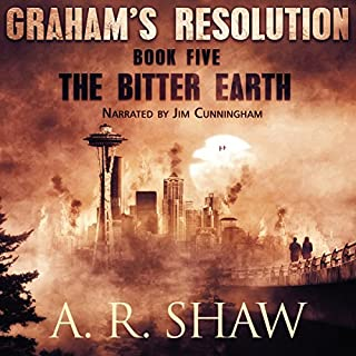 The Bitter Earth audiobook cover art