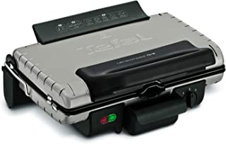 TEFAL Ultra Compact Barbecue Grill, 1700 Watts, Silver, Steel, GC302B28
