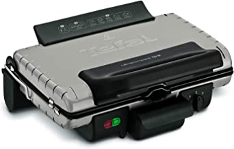 Tefal Ultracompact Barbecue Grill 600, Silver - Gc302b28