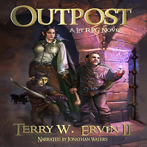 Outpost     Monsters, Maces and Magic Series, Book 1              By:                                                                                                                                 Terry W Ervin II                               Narrated by:                                                                                                                                 Jonathan Waters                      Length: 7 hrs and 23 mins     92 ratings     Overall 4.1