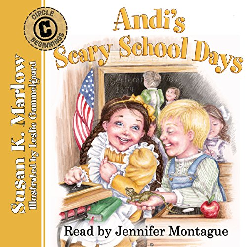Andi's Scary School Days audiobook cover art