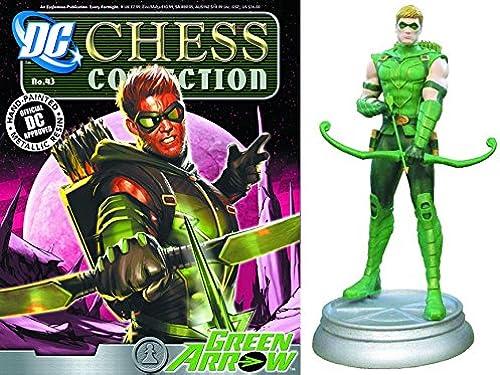 Figuren des Schachspiels Harz DC Comics Chess Collection No 43 Grün Arrow