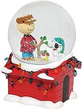 Department 56 Peanuts Christmas Musical Globe Waterball, 7