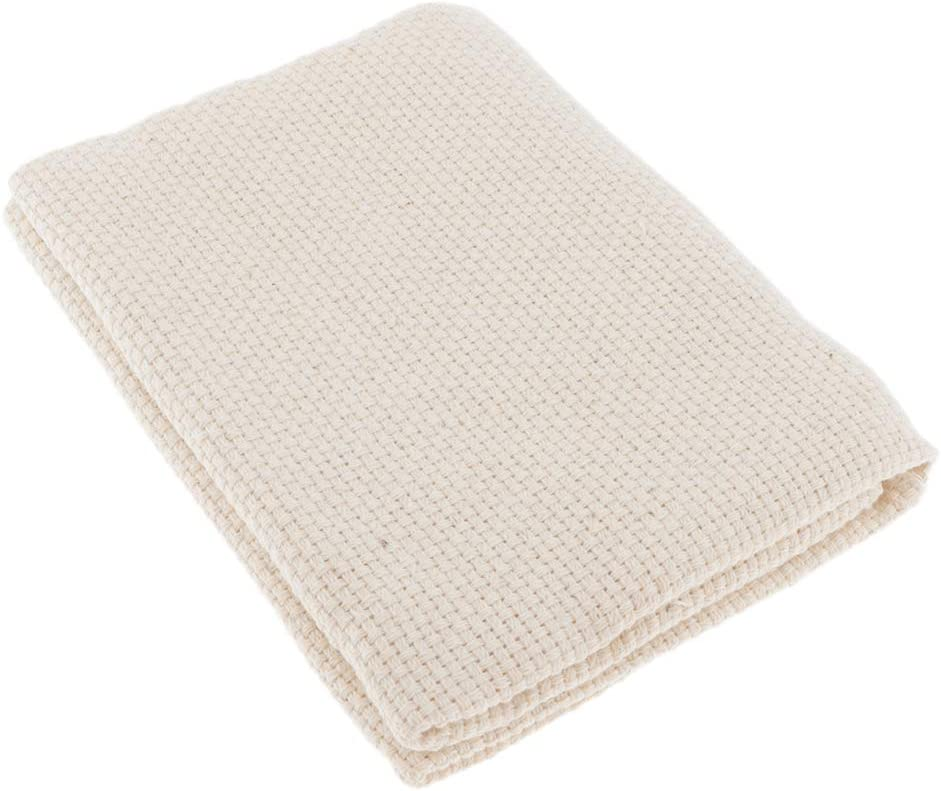menolana Cotton Monk's Aida Cloth for Embroidery Rug Selling rankings Hooking Indefinitely Sew