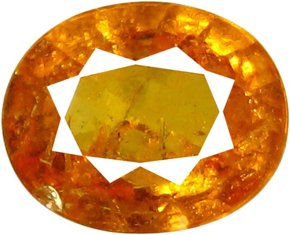 Max 89% OFF 1.07 ct AAA Grade Oval Shape 7 mm 6 x Max 46% OFF Orange Spessartine Fanta