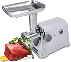 Yosoo 1600W Eléctrico Industrial Molinillo de Carne Má