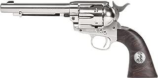 Colt Duke SAA Peacemaker CO2 BB Revolver, Nickel - 0.177 Caliber