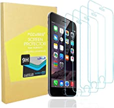 Screen Protector Japan Tempered Glass iPhone 8plus 7plus 6s Plus 6plus[Anti Blue Light] Anti-Glare Film Shield Cover iPhone 8+/7+/6s+/6+[3D Touch][4pack] 2.5d/Case Friendly/Eye Care Protector/Focuses