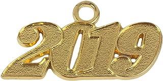 Graduation Alloy Gold 2019 Year Charm for Graduation Tassel