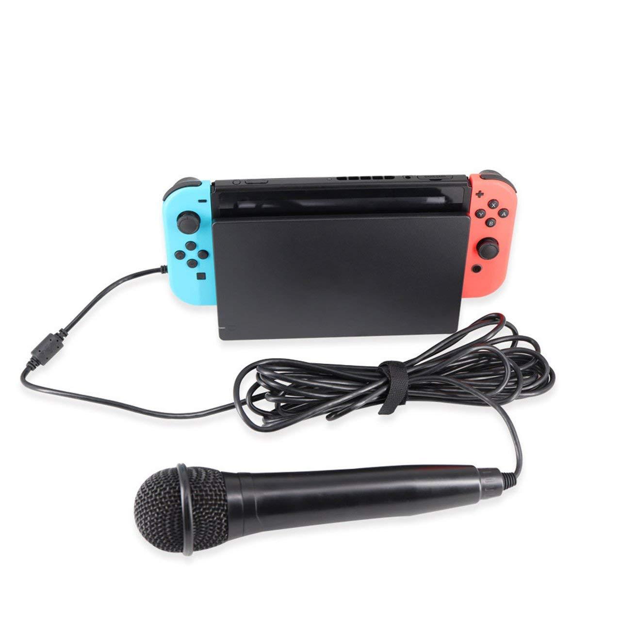 fEStprintse 1 UNID Micrófono con Cable USB Micrófono de Karaoke de Alto Rendimiento para el Interruptor PS4 para WiiU PC para Todos los Juegos de música: Amazon.es: Deportes y aire libre