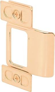 Defender Security U 9486 Adjustable Door Strike, Brass Plated, 3-Piece