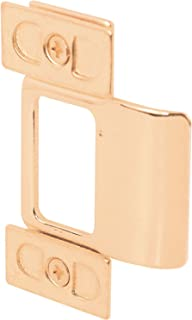 Defender Security U 9486 Adjustable Door Strike, Brass Plated, 3-Piece