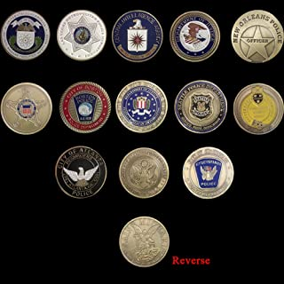 St. Michael Challenge Coin United States Police Officer Challenge Coin 13 Coins