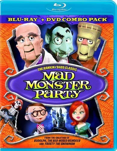 Mad Monster Party Combo Pack BD DVD Blu ray product image