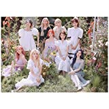 dili-bala KPOP Twice [MÁS Y MÁS] Foto del póster del Noveno álbum para fanáticos (420 * 297 mm)(Multi-Style01)