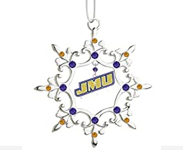 Final Touch Gifts James Madison University JMU Snowflake Christmas Ornament