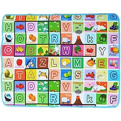 200X180CM Kids Crawing 2 Side Soft Foam Educational Game Play Mat Picnic  UK
