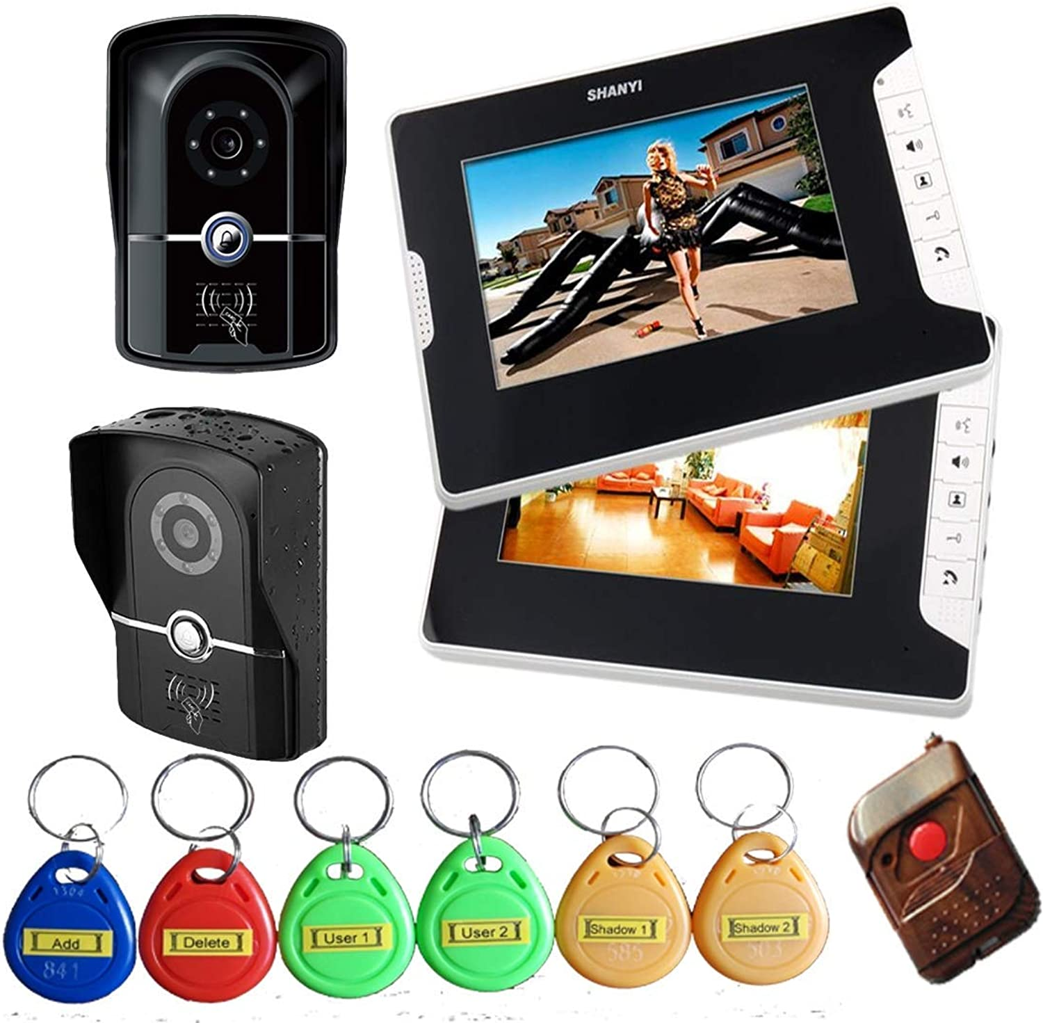 WG Video doorbell with cable, video intercom doorbell, doorbell