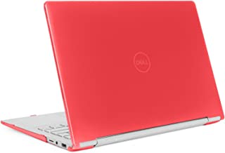 """mCover Hard Shell Case for 13.3"""" Dell Inspiron 13 7391 2-in-1 Convertible Laptop Computers (Red)"""