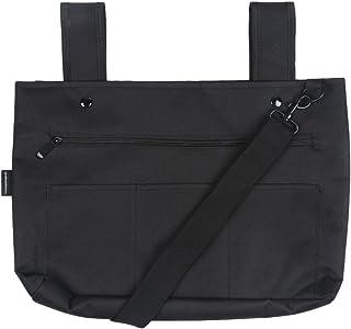 Snapster Snap On Tote Bag for Walker, Stroller or Shopping Cart (Black)