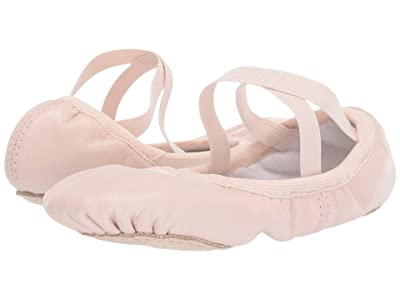 Bloch Kids Odette Ballet (Toddler/Little Kid) (Theatrical Pink) Girls Shoes