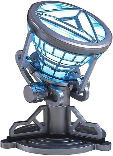 ron Man-Reaktor, Herzreaktor, Dekoration, Kreatives Geburtstagsgeschenk, Mk6, 1  1-Brustlichtreaktor