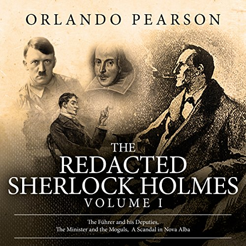 The Redacted Sherlock Holmes: Volume 1 audiobook cover art