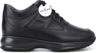Hogan Interactive in Pelle Nera, Donna.