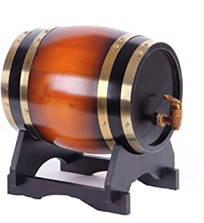 Tonneau à vin en bois Tonneau De Vin En Chêne , Baril De Stockage en Chêne Doublure De Papier D'aluminium Intégrée  Pour ...