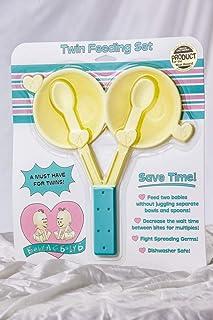Baby A & B Twin Feeding Set, 7302016