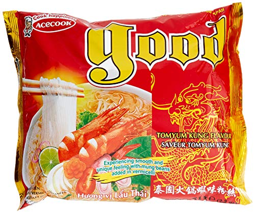 ACECOOK GD Instant Glasnudeln Tom Yum, 62 g