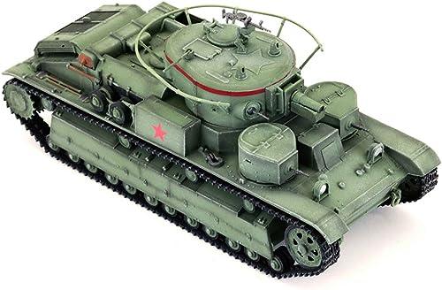 EP-model Modellspielzeug, Weltkrieg Waffen-Sowjetunion T28 Schwerer Panzer-Zerst r Fertiges Modell, Retro Milit ekorative Souvenirs