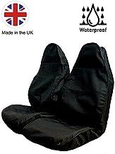The Urban Company - Fundas de asiento impermeables para Subaru Outback (97-07) Premium, color negro y resistente