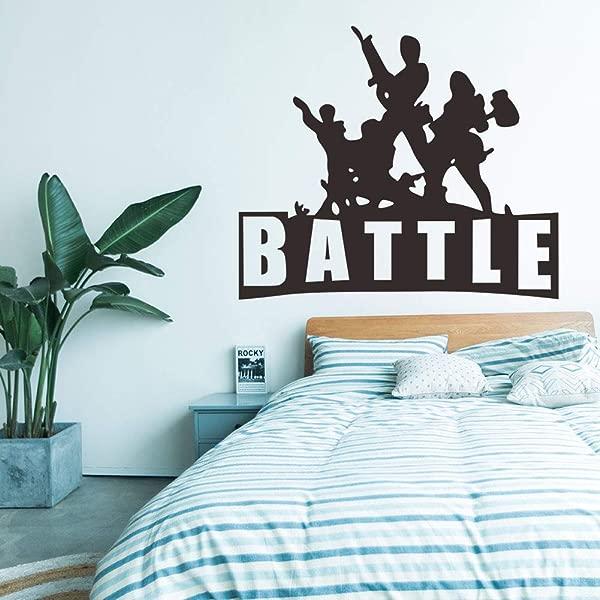 YLucy 1 Piece Cartoon Game Wall Sticker Kids Boys Bedroom Art Mural Wall Decor Peel Stick Poster Decals