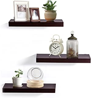 Best chocolate floating shelves Reviews