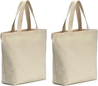 fa0e95c52172b Axe Sickle Canvas Tote Bag 2PCS Bottom Gusset 16