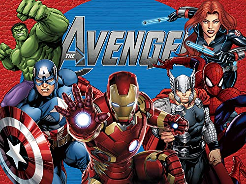 Avengers Photo Backdrop (7 x 5 ft)