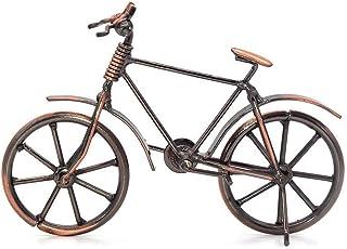 Simon Lee Woodham Escultura de Metal Retro Decoración de Bicicletas de Hierro Forjado, Adornos de Bicicleta de Arte de Metal, Adornos para la Oficina en Casa