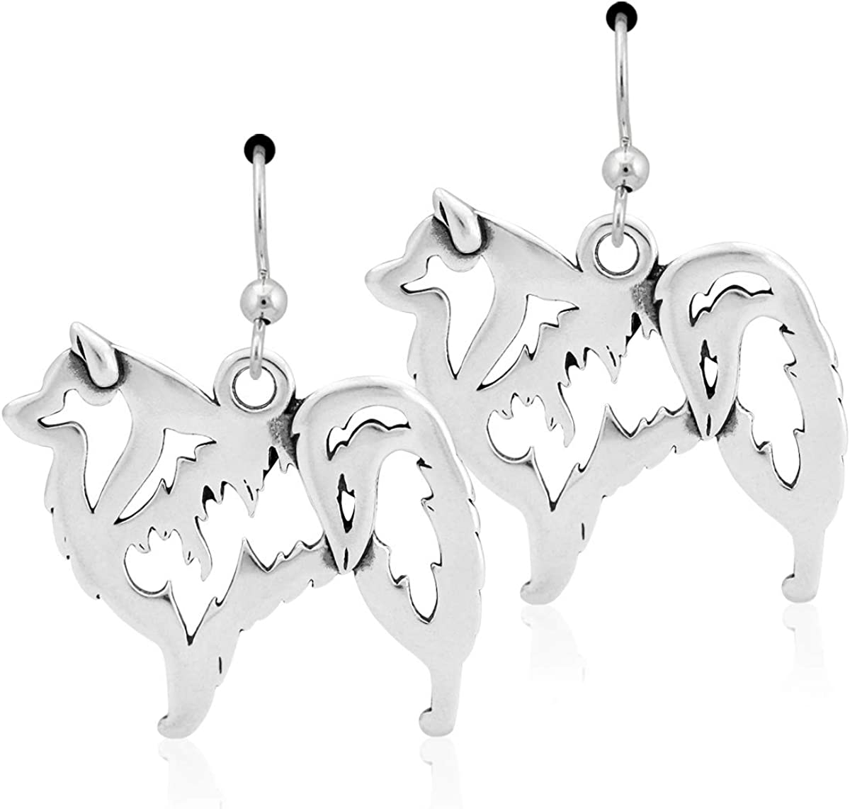 Sterling Silver American Earrings Body Eskimo San Francisco Mall Max 43% OFF