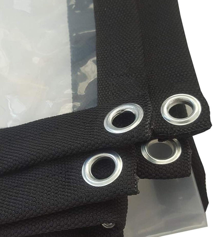 HRFHLHY Transparenter Verdickter Rand Perforierte Wasserdichte Kunststofftuchfenster-BalkonBlaumenschutzabdeckung,3M×6M B07K7LRJ5Q  Überlegene Qualität