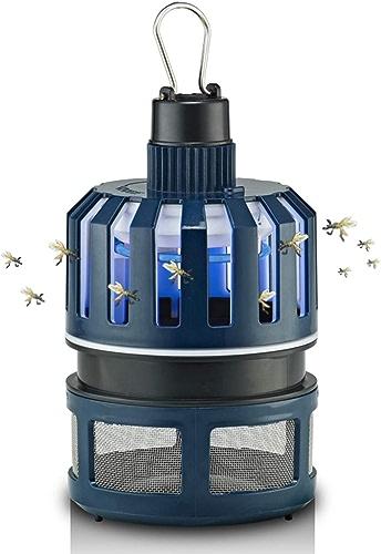 Piège à Insectes électrique - Tueur Accrochant D'insecte Tueur Extérieur De Moustique Lampe Moustique- pour des Fermes, des Yards, des Jardins