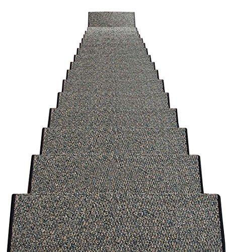 ZENGAI Rettangolo Scale Tappetino Pad 5 Pezzi Autoadesiva Alta Densità Resistente all'Usura Muto, 5 Dimensioni (Colore : 1#-5 Pieces, Dimensioni : 100x(24+3) cm)