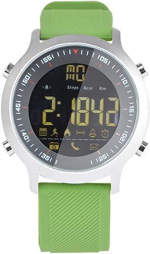 LJXAN Montres intelligentes pour Hommes et Femmes Sport podomètre Mobile Informations Réveil Rappel bleutooth étanche intelligent Bracelet ZYXCC