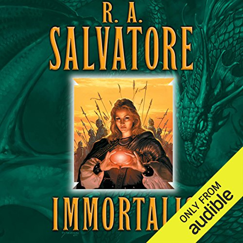 Immortalis audiobook cover art